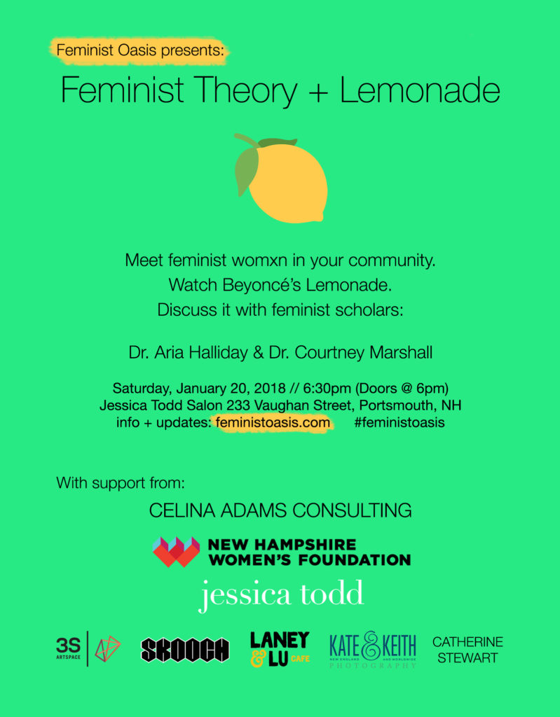 Feminist Theory + Lemonade