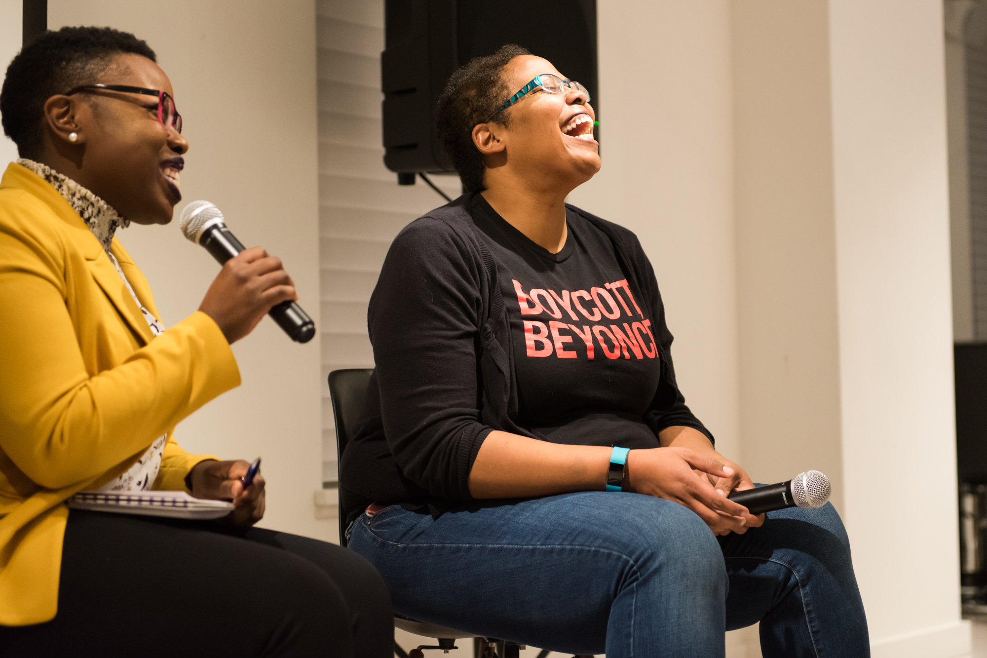 Feminist Theory + Lemonade — Recap, Resources & Photos from our launch event