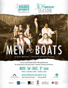 Men on Boats at NH Theatre Project Portsmouth NH