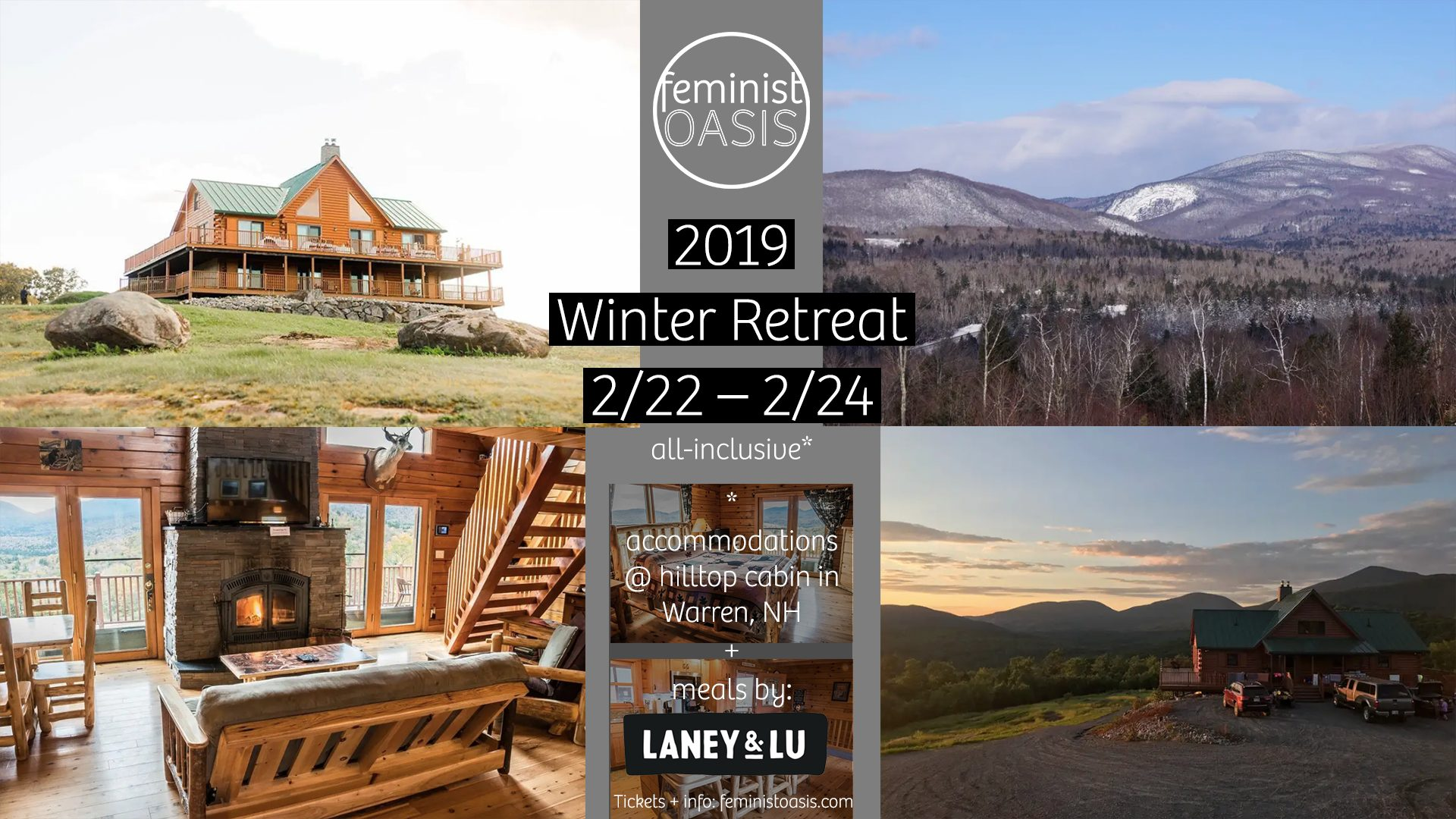 Announcing our 2019 Winter Retreat (check out these views!)