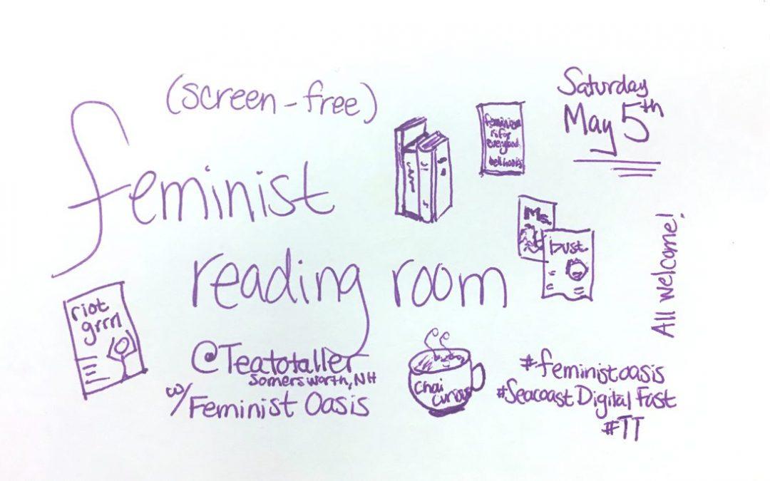 Feminist Reading Room for Seacoast Digital Fast