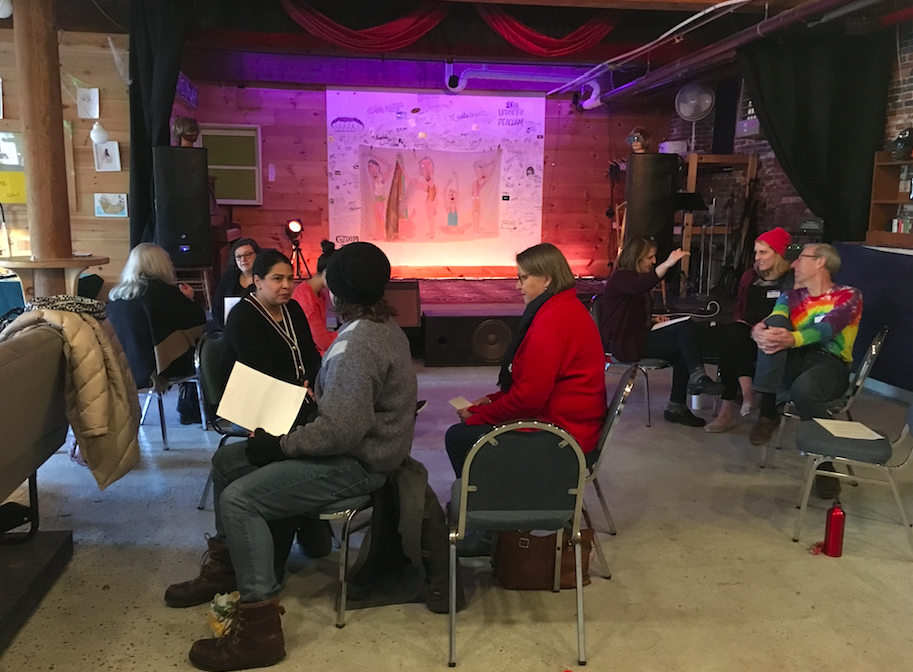 "Word association with ""feminism"" — what we heard at our Community Listening Session"